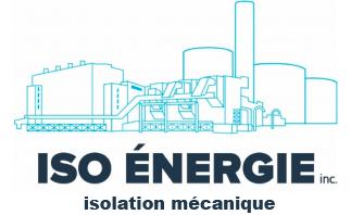 Iso Énergie Inc. Isolation mécanique du bâtiment à Montréal. Logo